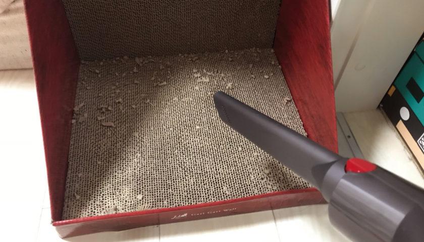 猫 爪とぎ ガリガリウォールスクラッチャー 掃除